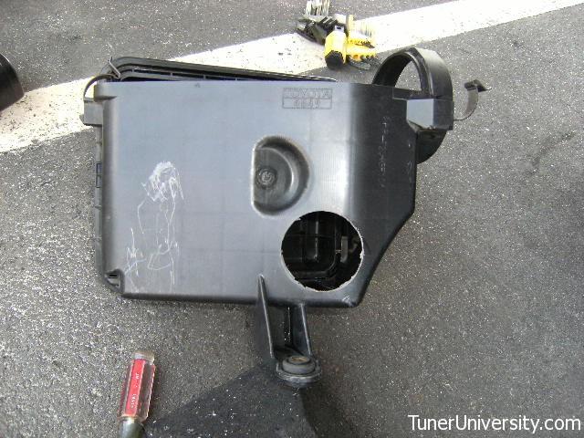"IS300: DIY for ""TU Intake Snorkel"" Mod   Tuner University"
